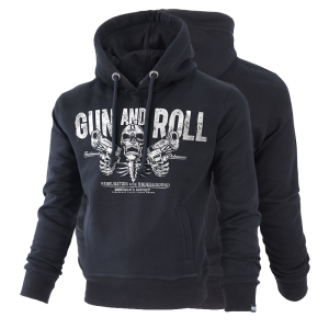 "Hoodie ""Gun and Roll"""