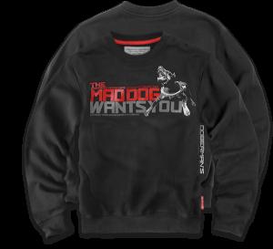 """Sweatshirt """"Mad Dog"""""""
