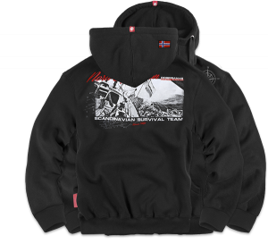 "Hoodie,zip ""Expedition"""