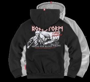 "Hoodie,zip ""Nord Storm"""