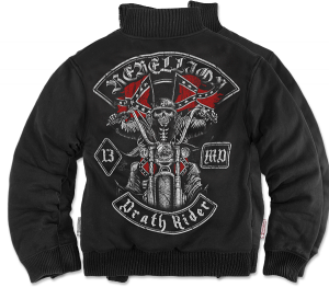 "Bonded jacket ""Death Rider"""