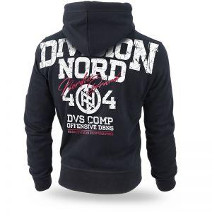 "Hoodie,zip ""Nordic Brand"""