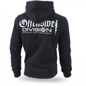 "Hoodie,zip ""Offensive Division"""