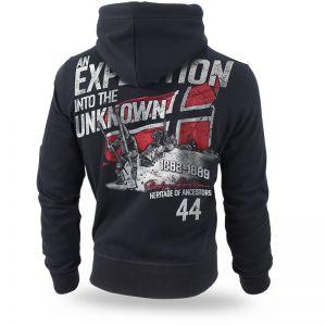"Hoodie,zip ""Unknown Expedition"""