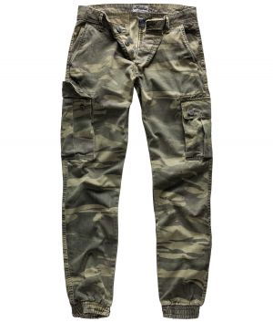 "Cargopants ""Bad Boys"" greencamo"