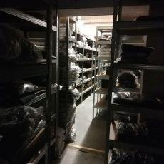 Reorganization of the warehouse