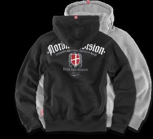 """Hoodie,zip """"Nordic D.V.S."""""""