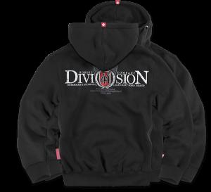 """Hoodie,zip """"Division 44"""""""