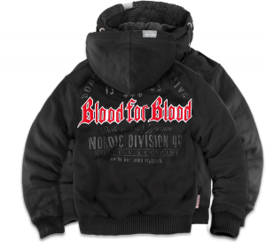 "Bonded jacket ""Blood for Blood"""