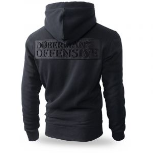 "Hoodie,zip ""Dobermans Offensive"""